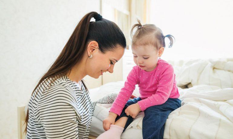 Δυσκολίες στο Ντύσιμο των Παιδιών